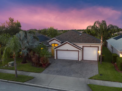 Rockledge Single Family Home For Sale: 1997 Auburn Lakes Drive