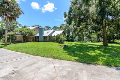 Grant Valkaria Single Family Home For Sale: 4065 Corey Road