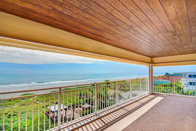 Cocoa Beach Condo For Sale: 3409 S Atlantic Avenue #503