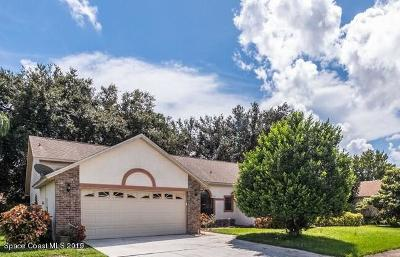 Rockledge Single Family Home For Sale: 931 Jamestown Drive