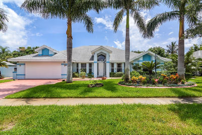 Indialantic Single Family Home For Sale: 107 Tradewinds