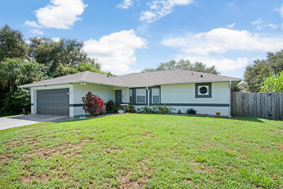 Cocoa Single Family Home For Sale: 5910 Logan Avenue