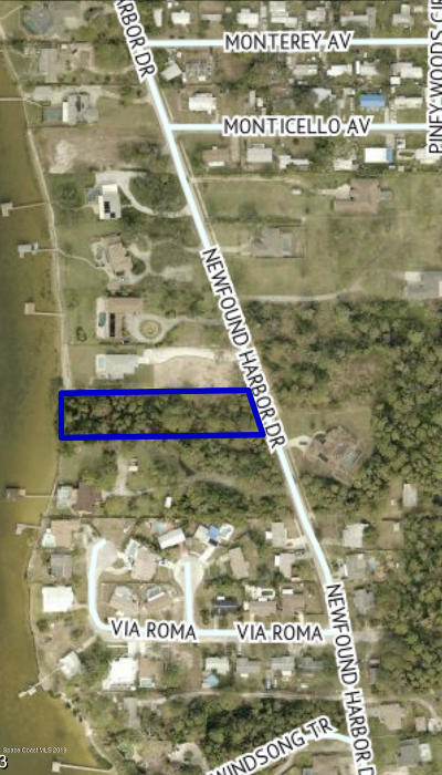 Merritt Island Residential Lots & Land For Sale: 1645 Newfound Harbor Drive