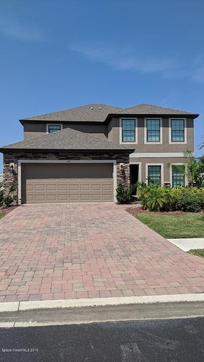 Palm Bay Single Family Home For Sale: 451 SE Trymore Drive SE