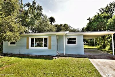 Cocoa Single Family Home For Sale: 664 Bacon Street