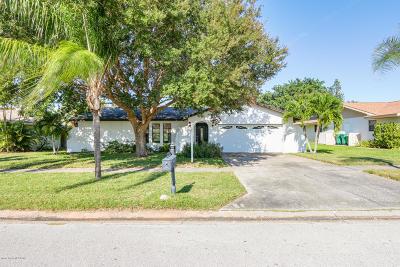 Satellite Beach Single Family Home For Sale: 350 Grant Avenue
