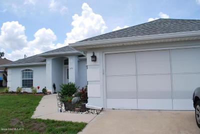 Palm Bay Single Family Home For Sale: 2151 Cogan Drive SE