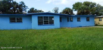 Cocoa Single Family Home For Sale: 1203 Alamanda Lane