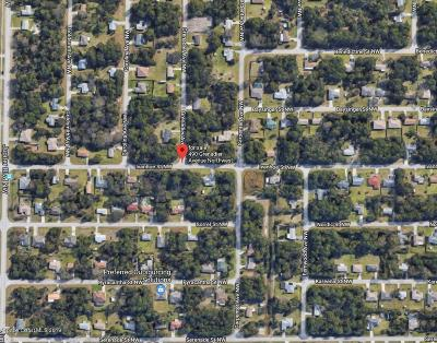 Palm Bay Residential Lots & Land For Sale: 490 Granadier Avenue NW