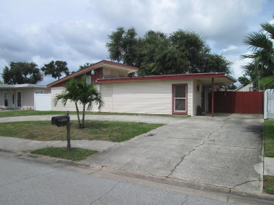 Cape Canaveral Single Family Home For Sale: 256 Polk Avenue