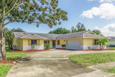 Titusville Single Family Home For Sale: 3105 Royal Oak Drive