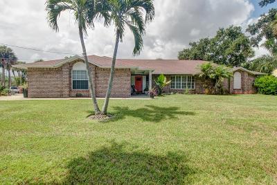 Vero Beach Single Family Home For Sale: 375 Live Oak Drive