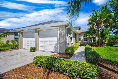 Rockledge, Viera, Merritt Island, Palm Bay, Cocoa, Titusville, Cape Canaveral, Melbourne, West Melbourne Single Family Home For Sale: 4243 Woodhall Circle