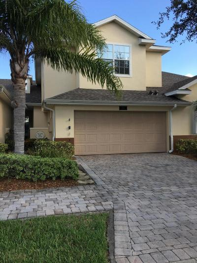 Rockledge, Viera, Merritt Island, Palm Bay, Cocoa, Titusville, Cape Canaveral, Melbourne, West Melbourne Townhouse For Sale: 1786 Donegal Drive