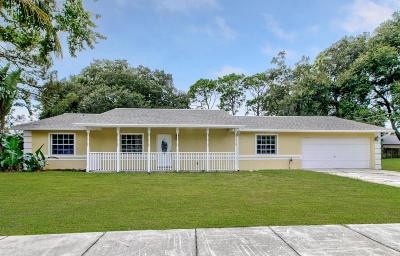 Cocoa Single Family Home For Sale: 6032 Homestead Avenue