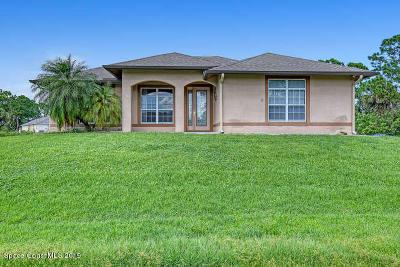 Palm Bay Single Family Home Contingent: 3068 Totem Avenue SE