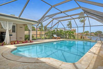 Satellite Beach Single Family Home For Sale: 660 Fountain Boulevard