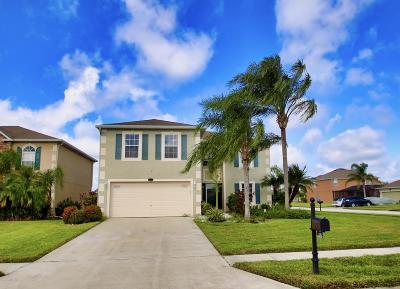 Palm Bay Single Family Home Backups: 2007 Neveah Avenue NW
