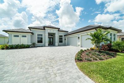 Melbourne Single Family Home For Sale: 8679 Serrano Circle