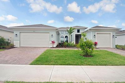 Melbourne Single Family Home For Sale: 2443 Chapel Bridge Lane