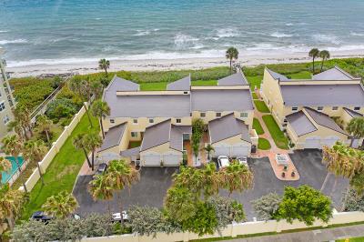 Satellite Beach Townhouse For Sale: 255 Ocean Residence Court