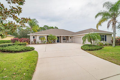 Palm Bay Single Family Home For Sale: 912 Easterwood Court SE