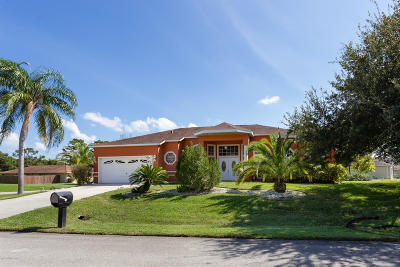 Palm Bay Single Family Home Contingent: 1081 Pennsylvania Avenue NE