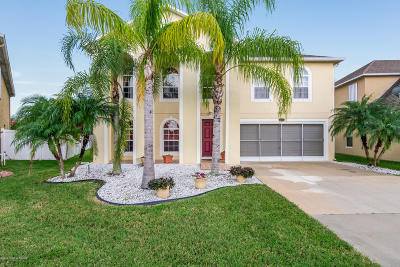 Palm Bay Single Family Home For Sale: 2771 Snapdragon Drive NW