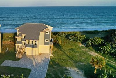 Melbourne Beach Single Family Home For Sale: 4525 Highway A1a