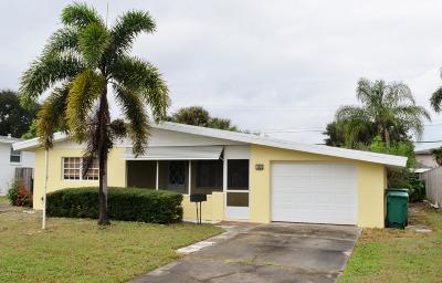 Satellite Beach Single Family Home Contingent: 310 Park Avenue