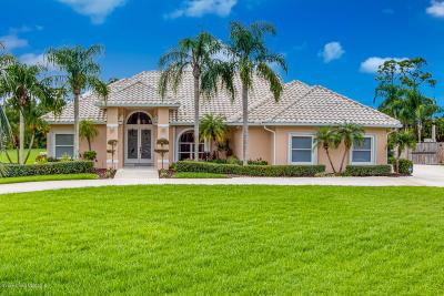Malabar Single Family Home For Sale: 3465 Coquina Terrace