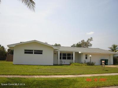 Satellite Beach Single Family Home For Sale: 385 Hamlin Avenue