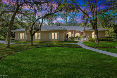 Melbourne Single Family Home For Sale: 3910 Hidden Oaks Lane