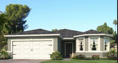 Melbourne Single Family Home Contingent: 4407 Magenta Isles Drive