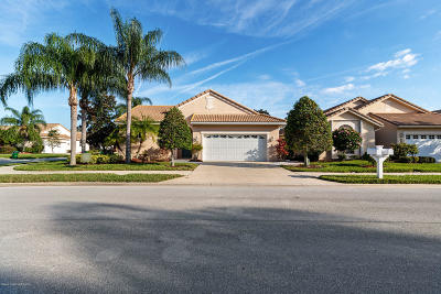 Melbourne Single Family Home For Sale: 8230 Simpkins Way