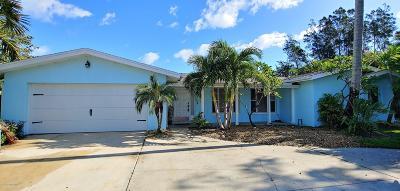 Melbourne Beach Single Family Home For Sale: 400 Coral Avenue