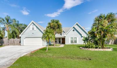 Palm Bay Single Family Home For Sale: 731 Hurole Avenue NE