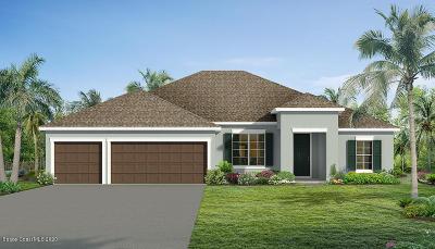 Palm Bay Single Family Home For Sale: 1452 Killian Drive NE