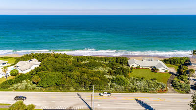 Melbourne Beach Single Family Home For Sale: 3785 S Highway A1a