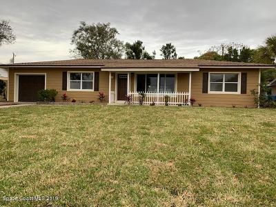 Melbourne Single Family Home Contingent: 624 Lorraine Drive