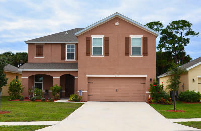 Palm Bay Single Family Home For Sale: 257 Moray Drive SW