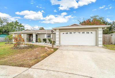 Melbourne Single Family Home Contingent: 1539 Huff Court