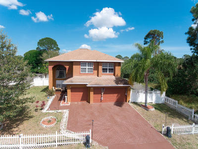 Palm Bay Single Family Home For Sale: 1355 Harwick Street SW