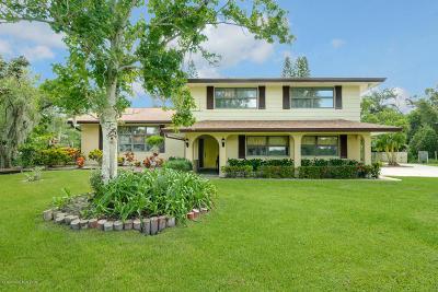 Melbourne Single Family Home For Sale: 3225 Villa Espana Trail