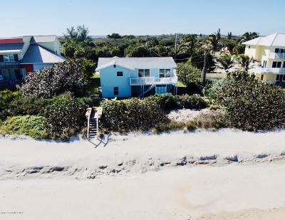 Melbourne Beach Single Family Home For Sale: 7737 S Highway A1a