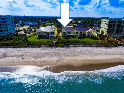 Satellite Beach Townhouse For Sale: 259 Ocean Residence Court