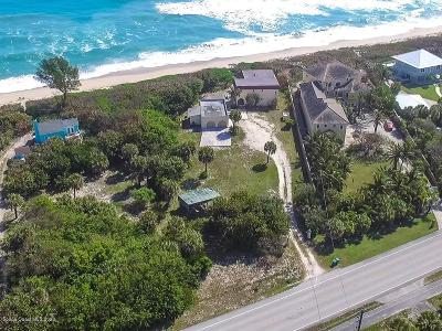 Melbourne Beach Single Family Home For Sale: 8975 S Highway A1a