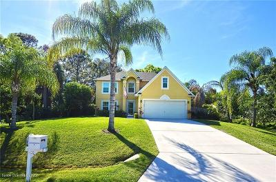 Sebastian Single Family Home For Sale: 1105 Persian Lane