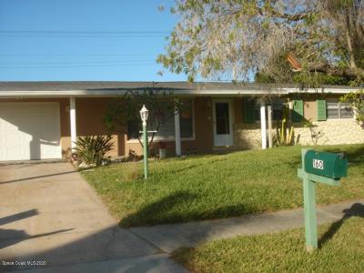 Satellite Beach Single Family Home For Sale: 160 Carissa Drive