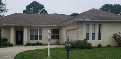 Palm Bay Single Family Home For Sale: 1797 Windbrook Drive SE